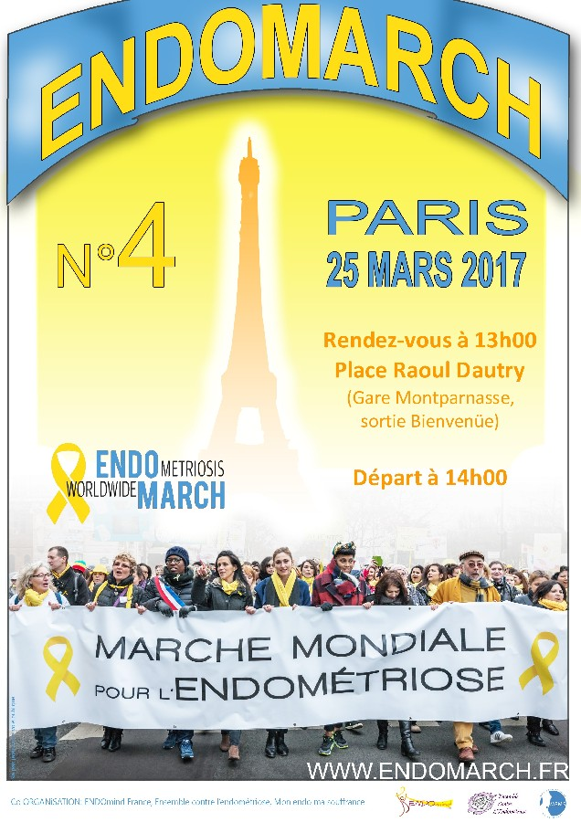 Endomarch : 4 eme marche mondiale contre l